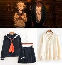 My Hero Academia Cross my body Himiko Toga Cosplay Costume Size S-XXXL Jacket Shirt Skirt Dress Toga Himiko Academy Uniform недорго, оригинальная цена