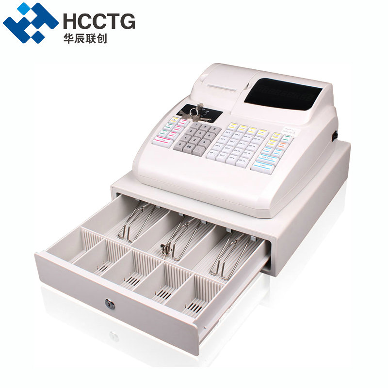 2017 New Supermarket POS cash register EC100 wtih 58mm thermal printer Cash Drawer ECR100 c 50 electronic cash registers cash register pos cash register 8v multifunctional catering cash register for supermarket milktea