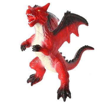 33CM Dragon Rodan Godzilla Figure Dinosaur Toys Model Action Figure Soft Vinyl Plastic Triceratops SpinosaurusToy For Kids(1341)