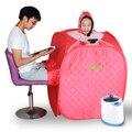 Portable Folding  fumigation with three Steam Sauna Box Khan Steam Room+2.0L Sauna Steamer Adults and children 80*80*105cm