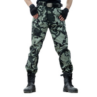 Men S Fashion Military Cargo Pants Multi Pockets Casual Loose Trousers Army Tactical Baggy Camouflage Trousers