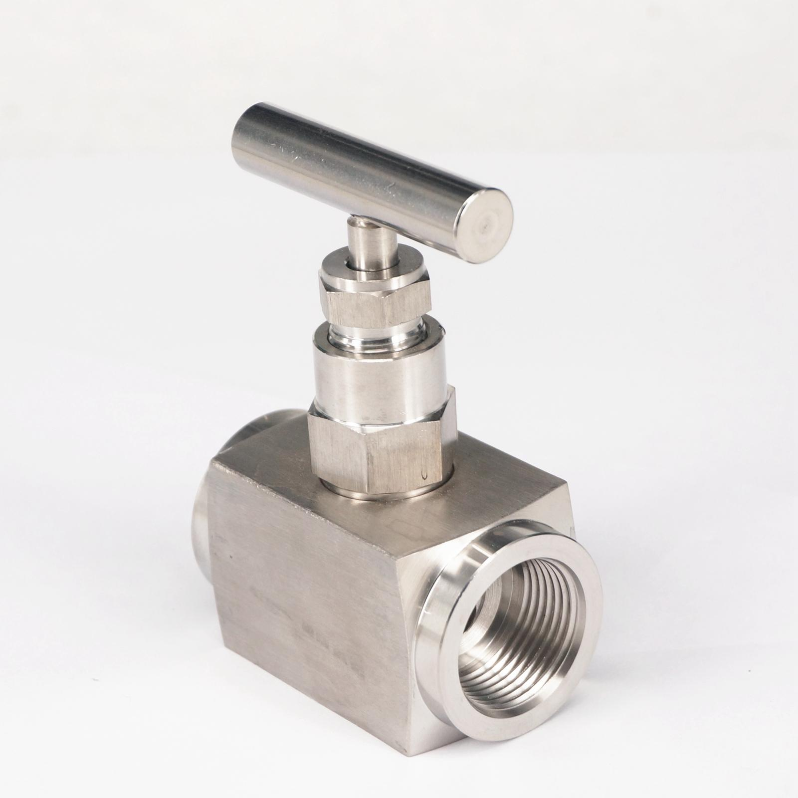 3/4 BSP Female SUS 304 Stainless Steel Flow Control Needle Valve 2250 PSI water oil fuel steam 1 2 bsp female 304 stainless steel flow control shut off needle valve 915 psi water gas oil