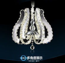 LED 90W  K9 Crystal Chandelier Lihting Transparent K9 Crystal 110-240v цена