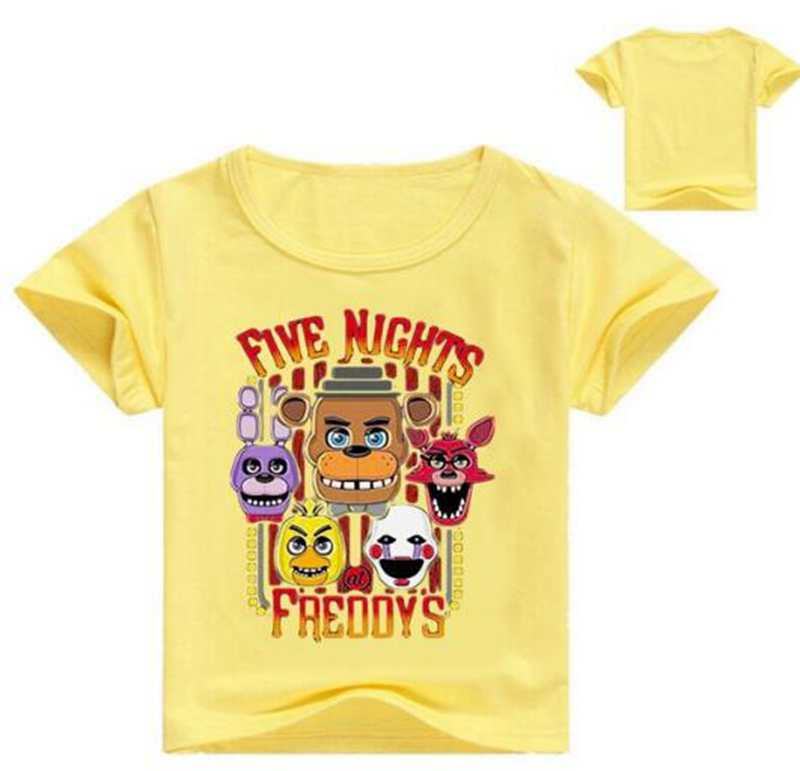 Will Work For Pizza Kids Tee Shirt Boys Girls Unisex 2T-XL