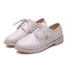 Moxxy Women Low Heels Fashion Bowtie Platform Female Spring Shoes Fringe Chunky Heel Flat Shoe Casual Footwear Oxford