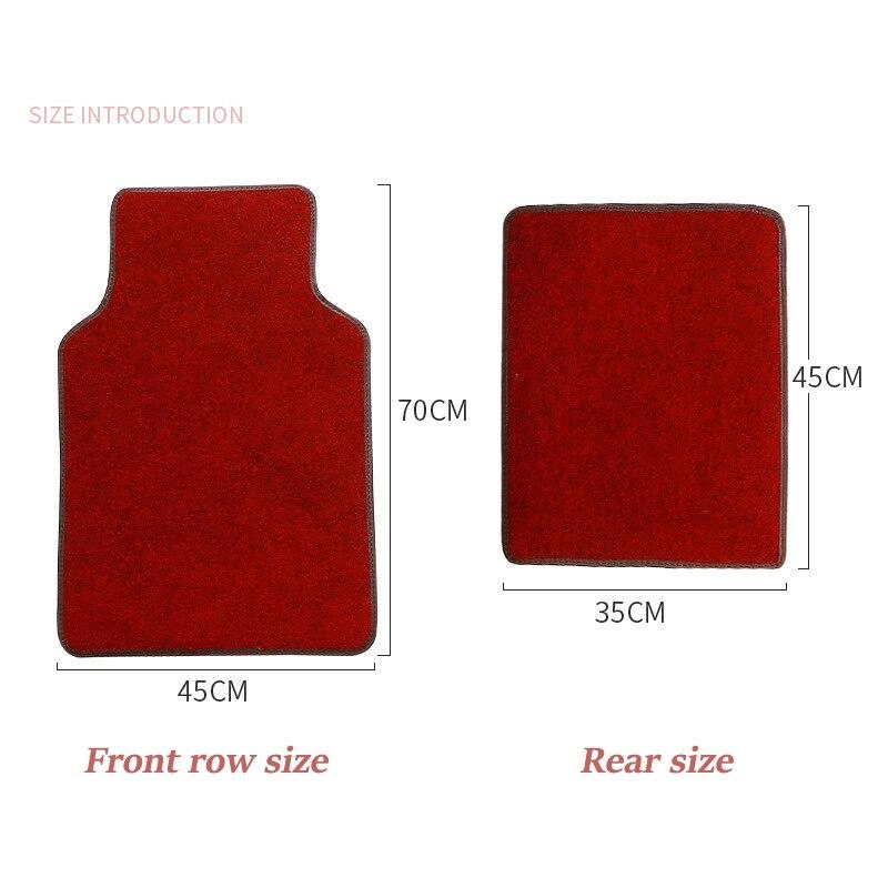Kalaisike tapis de sol universels pour CHANA tous les modèles CS35 Alsvin Benni CX20 CX30 CS75 CS15 CS95 CS55 accessoires de style de voiture - 5