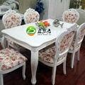В европейском стиле из дерева современный обеденный стол из натурального дерева обеденный стол