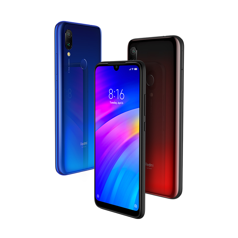"Image 2 - Global Version Xiaomi Redmi 7 3GB 32GB Mobile Phone Snapdragon 632 Octa Core 12MP AI Dual Camera 6.26"" HD Screen 4000mAh CE FCC-in Cellphones from Cellphones & Telecommunications"