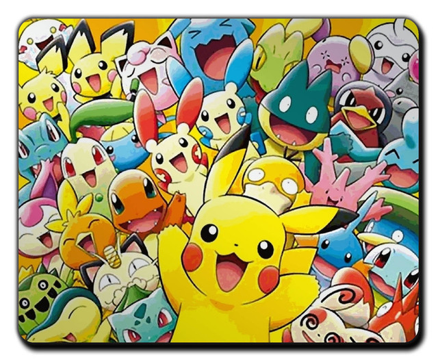 pokemon mousepad mouse mat pad in mouse pads from computer office