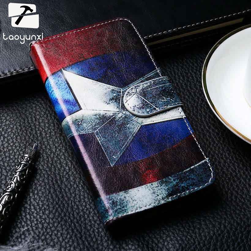 TAOYUNXI Flip Téléphone Cas de Couverture pour Alcatel OneTouch Pop 3 5015D Cas En Cuir 3g Version One Touch Pop 3 5015 5016A 5016J 5015E