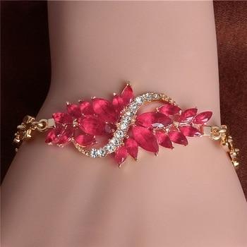 Women's Fashion Colorful Bracelets Bracelets Jewelry New Arrivals Women Jewelry Metal Color: H5824
