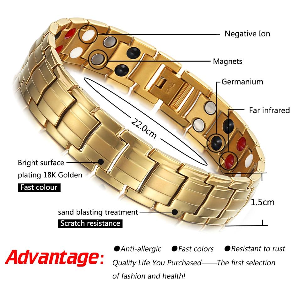 HTB1Yg4tfYZnBKNjSZFKq6AGOVXaH - Rainso Powerful High Gauss Magnetic Therapy Bracelet for Pain