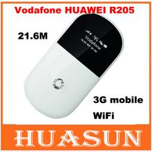 Original Unlocked Vodafone R205 21.6Mbps 3G 850/900/2100MHz 3G WIFI Router Mobile Broadband Pocket WiFi Hotspot PK e585 e586