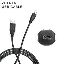 Zhenfa USBสายซิงค์ข้อมูลกล้องสายไฟสำหรับPanasonic Lumix DMC FP8 DMC FS1 DMC FS3 DMC FS4 DMC FS9 DMC FS5 DMC FS6 ZS19