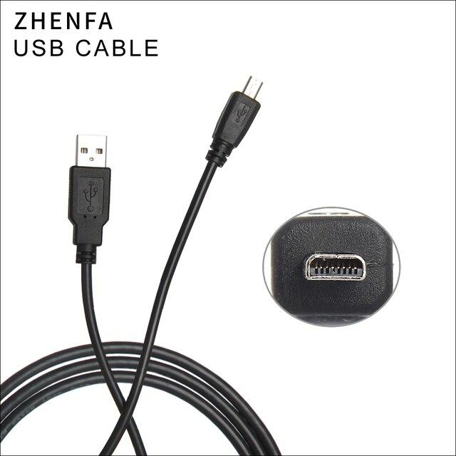 Zhenfa USB Sync Dữ Liệu Cable Máy Ảnh Cord đối với Panasonic Lumix Dmc FP8 DMC FS1 DMC FS3 FS4 DMC FS9 DMC FS5 DMC FS6 DMC ZS19
