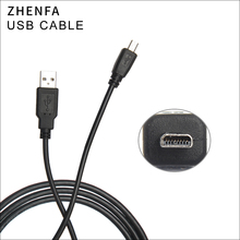 Zhenfa USB Sync Veri Kablosu Kamera Kablosu Panasonic Lumix DMC FP8 DMC FS1 DMC FS3 DMC FS4 DMC FS9 DMC FS5 DMC FS6 DMC ZS19