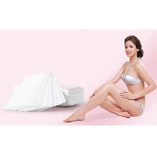 100pcs Hair Removal Depilatory Nonwoven Epilator Wax Strip Paper Roll Waxing Health Beauty Hot Sale Professional