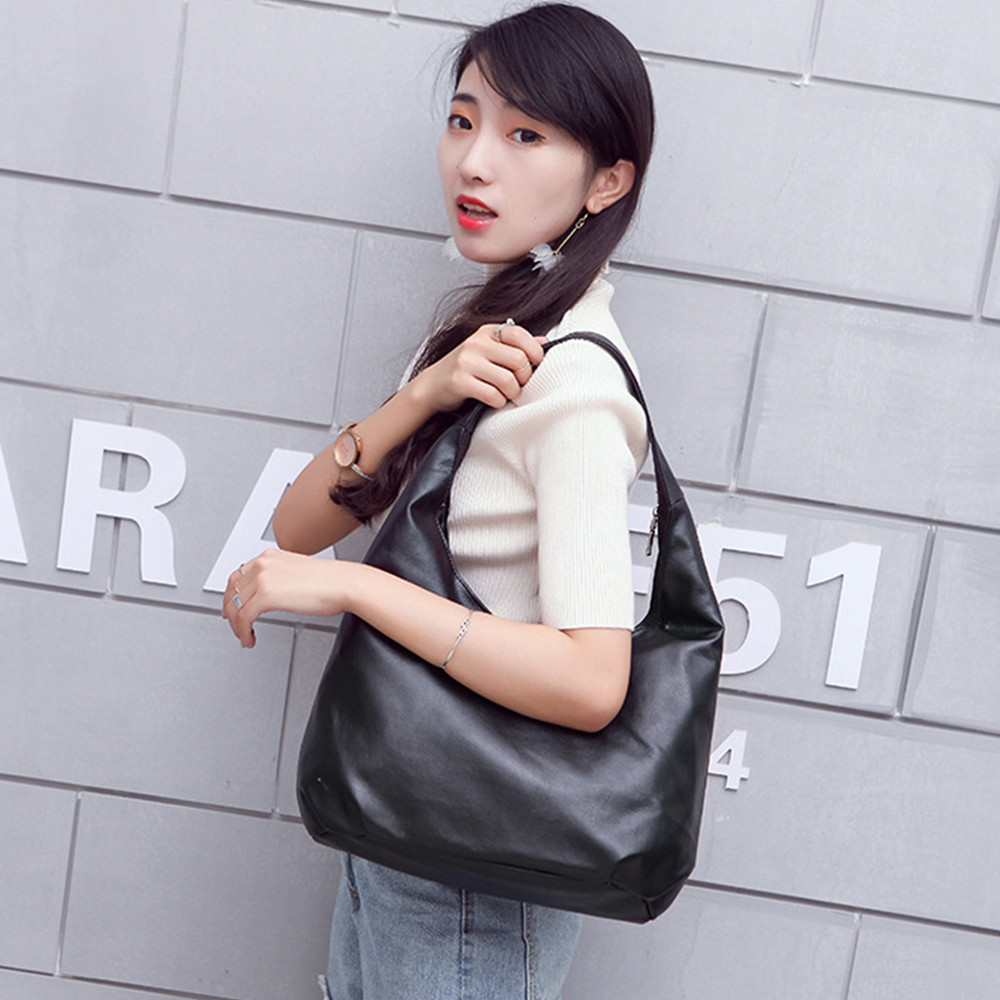 Women's Leather Hobos Bag Handbag Shoulder Bags Bolsa Feminina Bags For Women