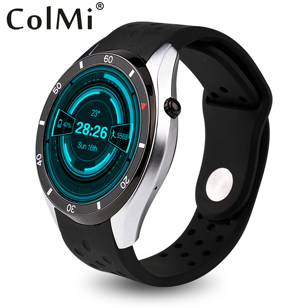ColMi Smart Watch VS110 OS Android 5.1 3G WIFI GPS Heart Rate Monitor Google Pla