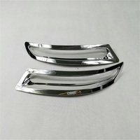 Exterior Accessories 2pcs Rear Fog Trim With High Quality ABS Chrome Fit For Volkswagen Tiguan 2010