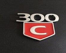 300C 300 C HEMI emblema emblemas do logotipo vermelho