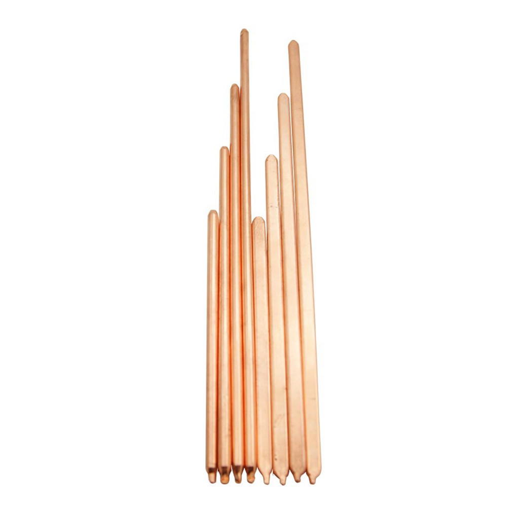 Pure Copper Tube Tubing 150mm/200mm/250mm/300mm For Computer Laptop Cooling Notebook Heat Pipe Flat Or Round Optional
