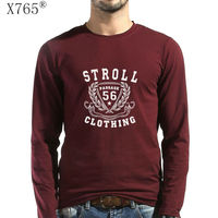 X765 Brand Men S T Shirt Discount 2017 New Fashion Spring T Shirts O Neck Cotton