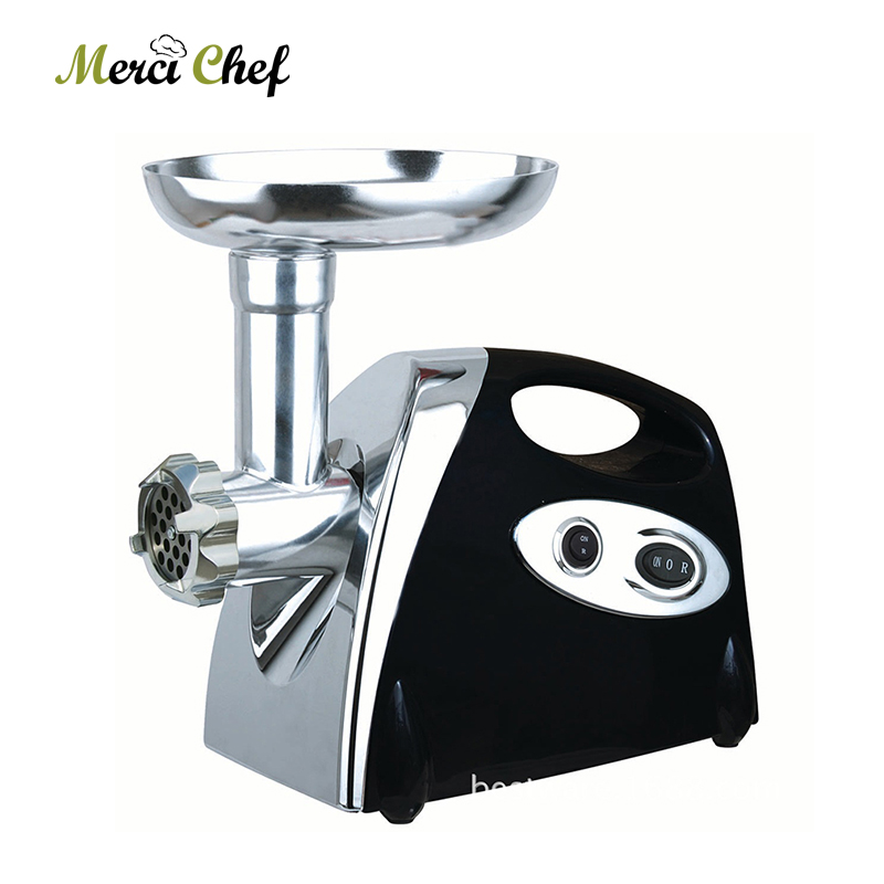 ITOP Household Electric Meat Grinder & Sausage Stuffer Kitchen Chopper Mincing Machine 3 Cutting Plates Food Processors