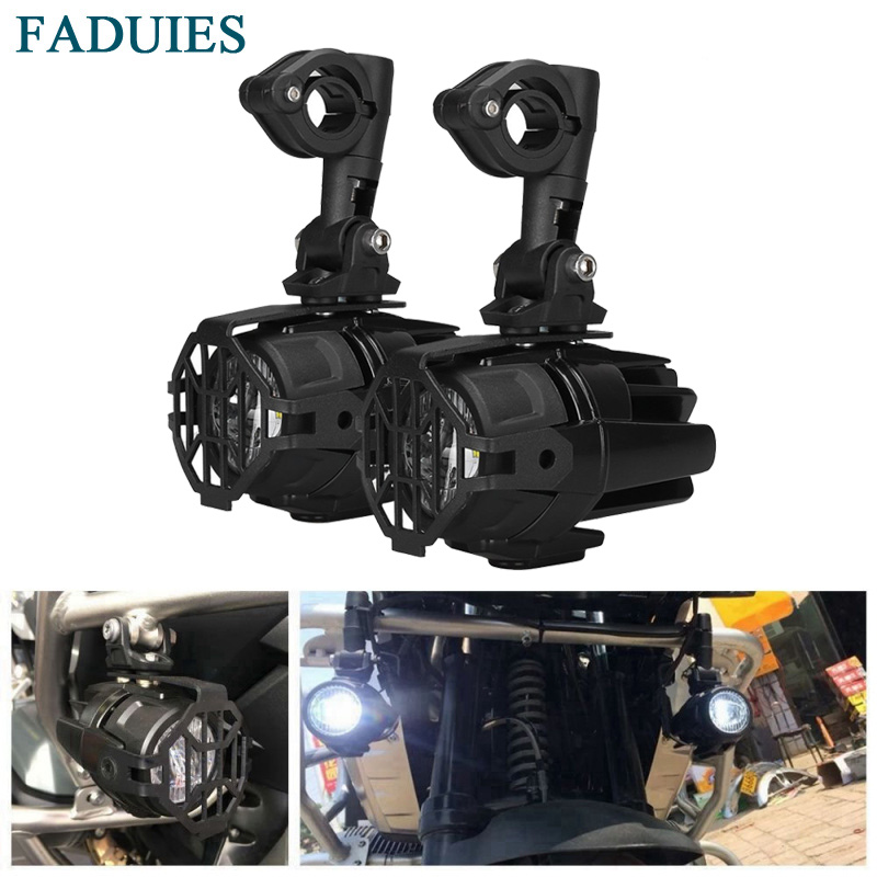 FADUIES Motocycle Fog Lights For BMW LED Auxiliary Fog Light Driving Lamp For BMW R1200GS/ADV K1600 R1200GS R1100GS F800GS цена