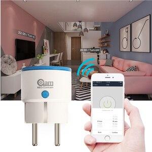 Image 5 - NEO COOLCAM 10 sztuk/partia Zwave podłącz inteligentne gniazdo ue, Z wave Plus zakres Extender, miernik mocy dla inteligentnego domu