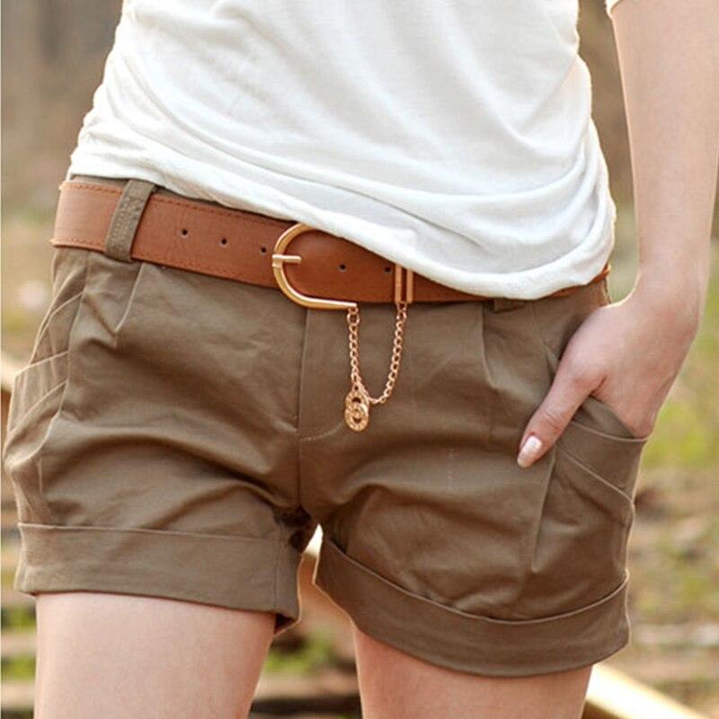 2015 Summer Fashion Woman Solid Shorts Casual Harem Short ...