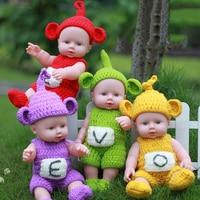 12 Inç 30 cm Mini Bebek Reborn Bebek Sevimli Canlı Bebek Kızlar Ucuz Oyuncaklar Tam Vinil Vücut Reborn Bebek Oyuncakları