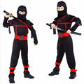 Boys Ninja Costumes Purim Festival Halloween Cosplay Costume Martial Arts Ninja Costumes For Kids Fancy Party Decorations