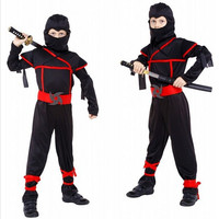 Boys Ninja Costumes Purim Festival Halloween Cosplay Costume Martial Arts Ninja Costumes For Kids Fancy Party