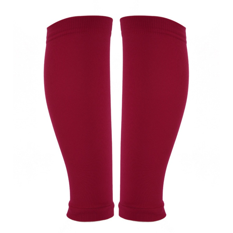 Calf Support Graduated Compression Leg Sleeve Sports Socks Snowboard Kneepad Football Knee Brace Support 1 Pair