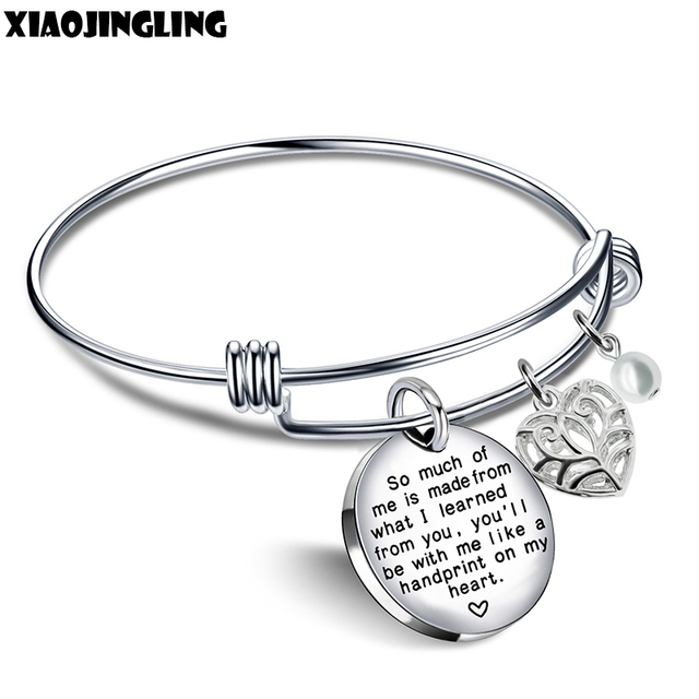 What Is Stainless Steel Made Of >> Xiaojingling Stainless Steel Bangle So Much Of Me Is Made From What
