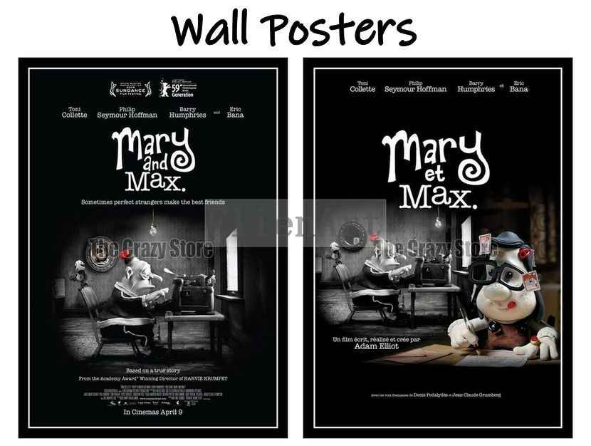Mary And Max Classic Movie Home Decorative Painting White Kraft Paper Poster 42x30cm Wall Stickers Aliexpress
