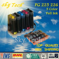 5 Color Full Ink CISS For PGI 225 CLI 226 CISS For Canon IP4820 MG5120 MP5220