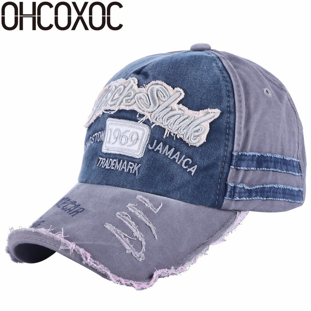 d5d6d5a0d93bfe OHCOXOC new fashion women men baseball cap Washable outdoor style caps  embroidery letter sports hats unisex cotton caps
