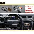 Para Mercedes Benz W209 CLS CLS 300 320 350 500/Retrovisor do carro de BackUp Reversa Câmera Sets/RCA & Tela Original compatível