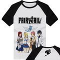 Free shipping New 2017 Fairy Tail T-shirt Natsu Dragneel Cosplay T Shirt Fashion Anime Cotton Tops Tee For Men Women