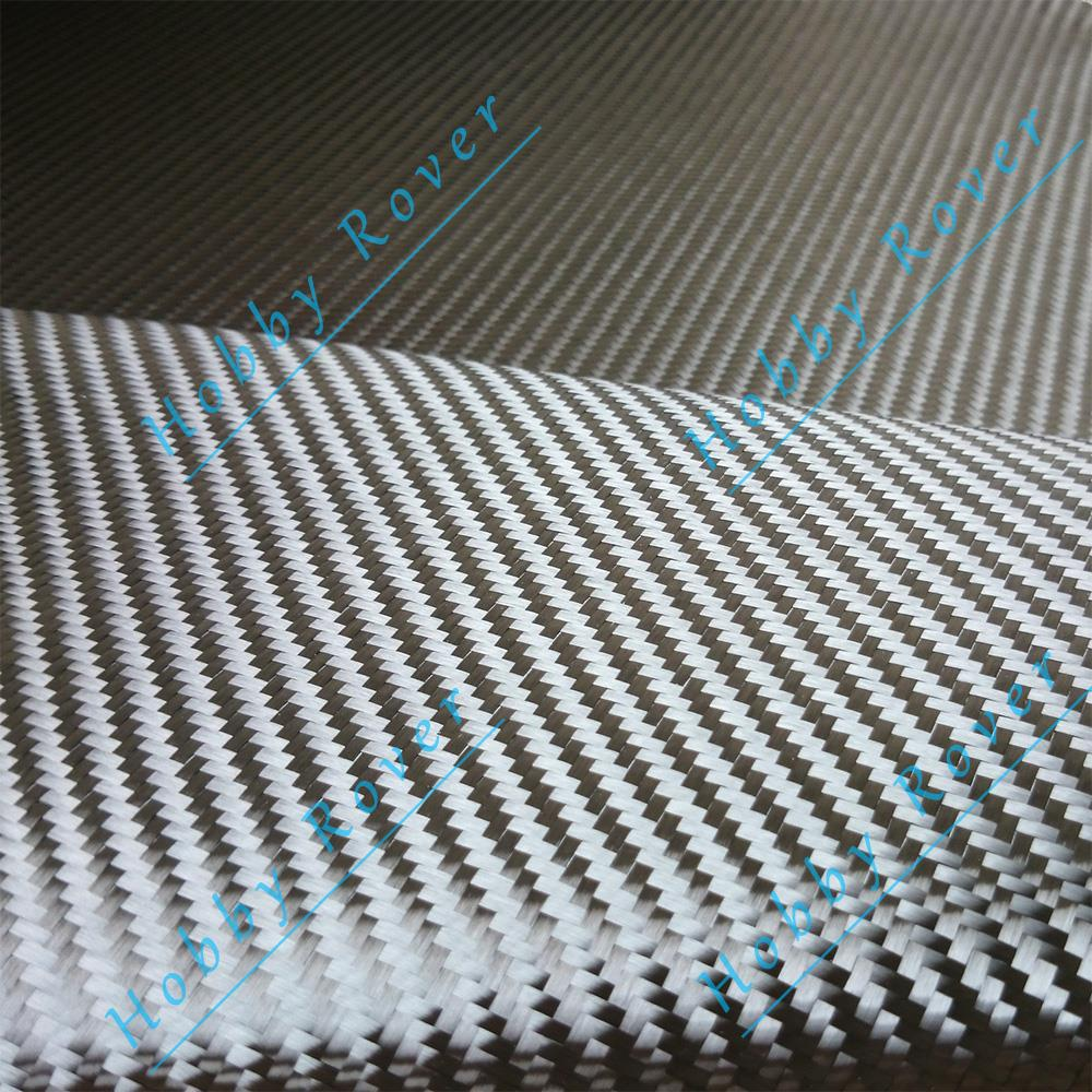 Grade 3K twill Real Carbon Fiber Cloth Fabric 50cm width