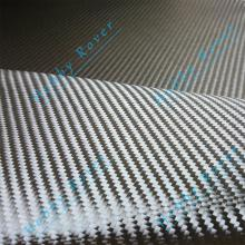[Grade A] 3K 200gsm 2x2 twill Real Carbon Fiber Cloth Fabric  20 / 50cm width