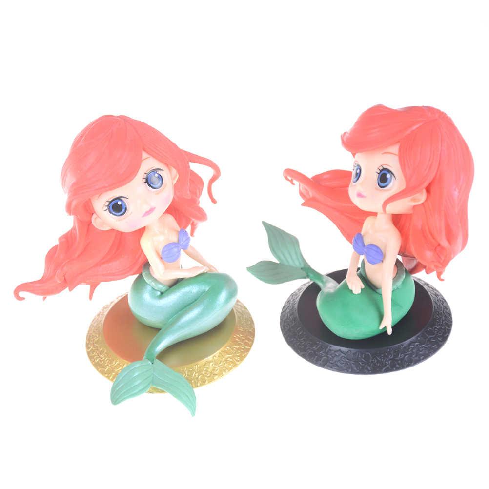 The Little Mermaid Putri Ariel 11 Cm PVC Figure Collectible Model Toy Q Posket Karakter