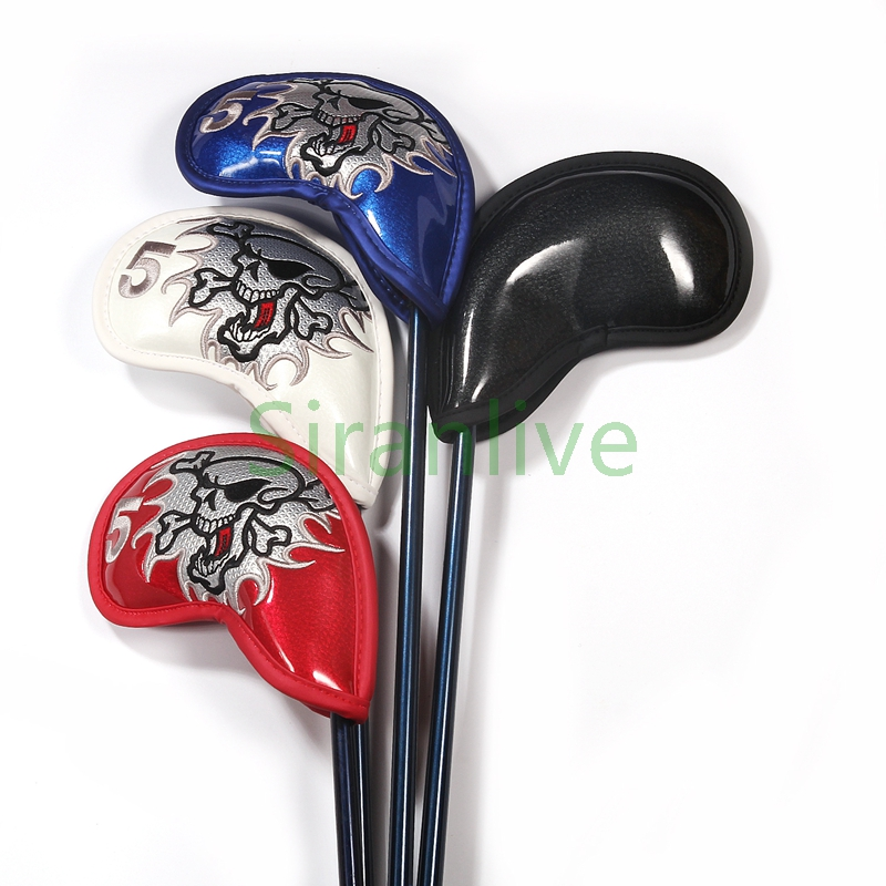 9pcs Iron Headcover Club Hodetrekk w / Closure Smooth Surface Golf - Golf - Bilde 5