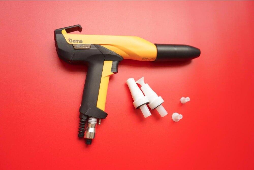 optiflex 2 aftermarket manual electrostatic powder spray gun shell for GEMA GM03 with nozzle for coating machine high quality electrostatic spray gun hv generator cascade high voltage transformer for gema