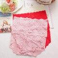 Трусы Высокой Талией Трусы Сексуальный Розовый Цветок Кружева Мода Выдалбливают Дизайн Body Shaper Шорты Нижнее Белье Трусики Для Женщин