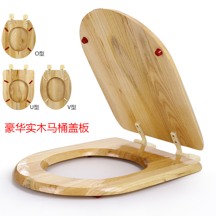 Strange Mayfair Molded Wood Veneer Elongated Toilet Seat In Cherry Pabps2019 Chair Design Images Pabps2019Com