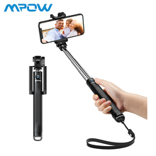 Mpow Silicone Selfie Stick Extendable Compact Photography Monopod Bluetooth Selfie Stick for iPhone Huawei Xiaomi Smartphone цена