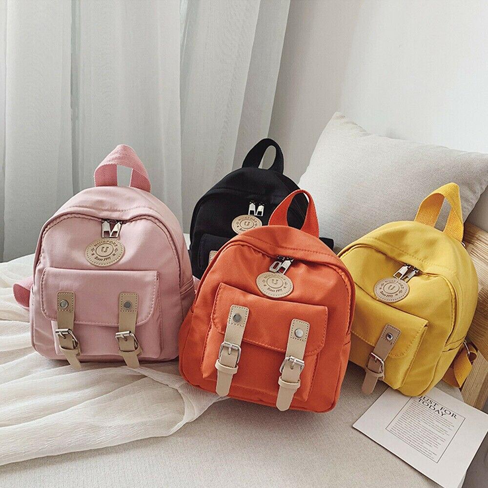 Yürümeye başlayan çocuk erkek kız moda sırt çantası Schoolbag omuzdan askili çanta sırt çantası küçük okul çantalarını karikatür seyahat sırt çantası çocuklar için